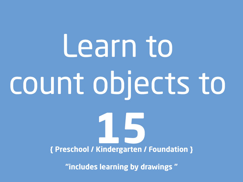 SubjectCoach | Learn to count objects from 1 to 15 PreSchool Kindergarten Foundation Kids
