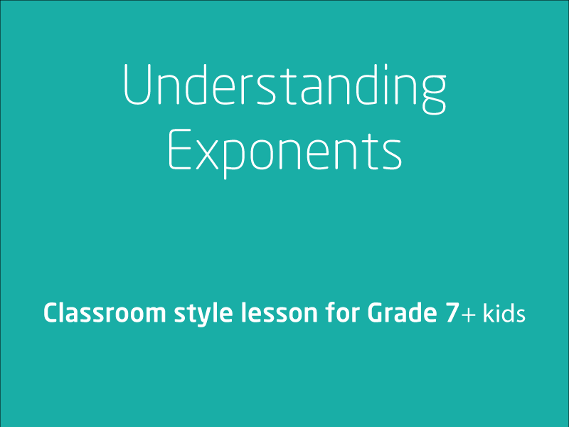 SubjectCoach | Understanding and Evaluating Exponents