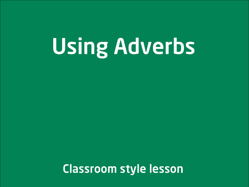 SubjectCoach | Adverb group/phrases
